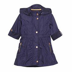 Baker by Ted Baker Girl's navy lightweight belted mac coat- at Debenhams.com for the little girls!