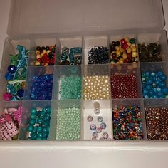 Beads bundle I'm selling my bead collection I just don't have time for it anymore. All were bought from Joann Fabrics make me offers and comment any questions you have. I have a ball of hemp twine as well that is not listed. I also have bracelets made with these beads listed in my closet :) Jewelry