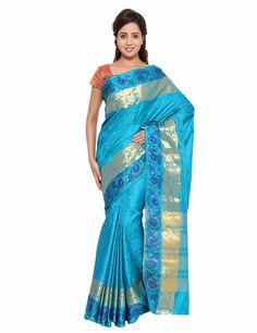 The Chennai Silks - Semi Dupion Saree - Sky blue (CCSW - 02): Amazon : Clothing & Accessories  http://www.amazon.in/s/ref=as_li_ss_tl?_encoding=UTF8&camp=3626&creative=24822&fst=as%3Aoff&keywords=The%20Chennai%20Silks&linkCode=ur2&qid=1448871788&rh=n%3A1571271031%2Cn%3A1968256031%2Ck%3AThe%20Chennai%20Silks&rnid=1571272031&tag=onlishopind05-21