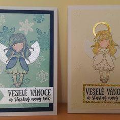 Zkouska noveho razitka #gorjuss inspirace u #davonacz a navodu od Adely Vlasakove #cardmaking #christmas