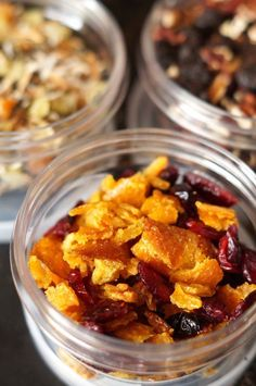 Make your own looseleaf tea! Recipes for Orange Cranberry, Blueberry Pecan, and Coconut Apricot Green Tea.