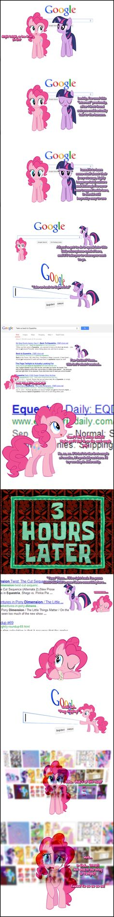 Friends don't let friends ship ponies.    Pinkie Pie says Google-search! by Undead-Niklos.deviantart.com on @deviantART