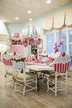 Our Peppermint Christmas Breakfast Room will give you all of the inspiration you could ever want for your peppermint Christmas themed decor this year!
