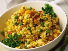 Maukas kanarisotto - Reseptit Easy Delicious Recipes, Real Food Recipes, Chicken Recipes, Cooking Recipes, Yummy Food, Healthy Recipes, Healthy Food, A Food, Food And Drink