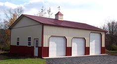 Pole Barn Homes Are One Of The Most Cost Efficient Options Available Pole Barn Shop, Building A Pole Barn, Pole Barn Garage, Pole Barn House Plans, Pole Barn Homes, Garage House, Building A House, Pole Barns, Dream Garage