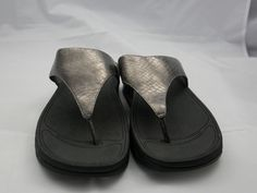 94fc0ea31 FitFlop Fit Flop grey sandals - Size 11 NEW  fashion  clothing  shoes