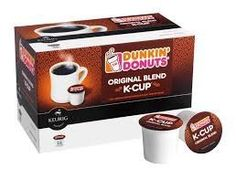 Dunkin Donuts Original Blend KCups  Box of 14 ** Be sure to check out this awesome product. (This is an affiliate link and I receive a commission for the sales)