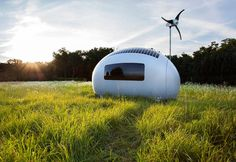 But in case both those energy options fail, the ecocapsule comes with a battery. When fully charged, the battery will provide energy for at least four days.