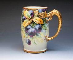 Wenzel Pfohl Chicago estudio artista mano taza por DejaVuPorcelain