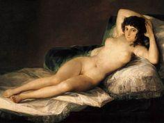 La Maja Desnuda. Goya