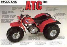 1983 Honda atc 200