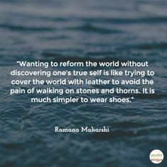 10 Ramana Maharshi Quotes That Will Inspire You To Truly Be Yourself Spiritual Messages, Spiritual Quotes, Wisdom Quotes, Spiritual People, Quotable Quotes, Spiritual Enlightenment, Spiritual Awakening, Awakening Quotes, Autobiography Of A Yogi