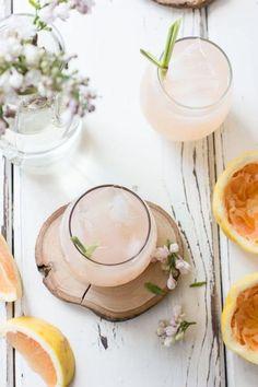 Grapefruit, Ginger, and Lemongrass Sake Cocktails | The Bojon Gourmet
