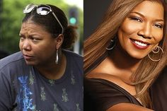queen latifah without makefup