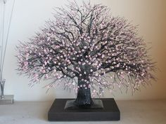 how to make wire sculpture trees | new wire tree by divinewiretree