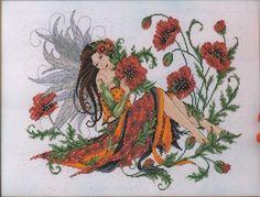 Poppy Fairy - Cross Stitch Pattern by Joan Elliott