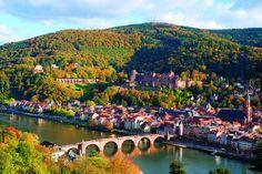 Heidelberg Travel HD Wallpaper