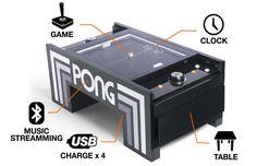 Mesa de café PONG de Atari