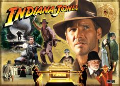 The Indiana Jones movies are all awesome. Love Harrison Ford!