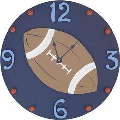 Football Wall Clock and decor at Jack and Jill Boutique