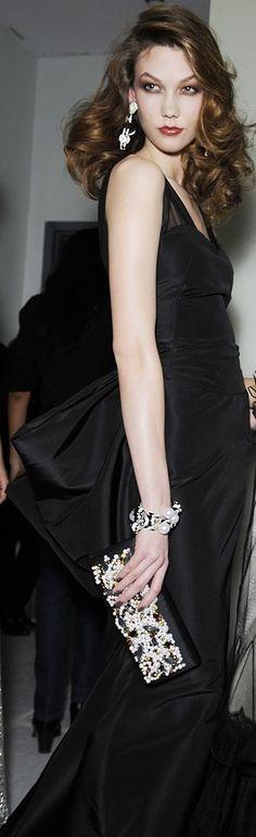 Oscar de la Renta: Karlie Kloss.