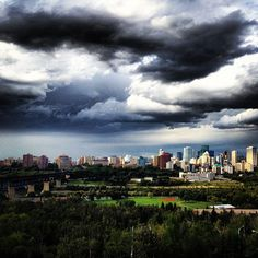 In case you forgot what the #yeg skyline looks like! Summer don't goooooo!