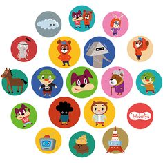 These character named Wooofys. I make some products. Character Names, Behance, Watches, Products, Wristwatches, Clocks, Gadget