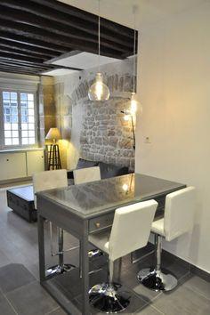 Дизайн студии 35 м во Франции