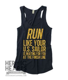 Run Like Your U.S. Sailor