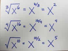 square root of negative one teach math: Fraction Exponents. - - square root of negative one teach math: Fraction Exponents. Infografik square root of negative one teach math: Fraction Exponents. Maths Algebra, Math Fractions, Teaching Math, Math Teacher, College Teaching, Math Notes, Math Formulas, 8th Grade Math, Ninth Grade
