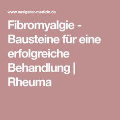 Fibromyalgie - Bausteine für eine erfolgreiche Behandlung | Rheuma