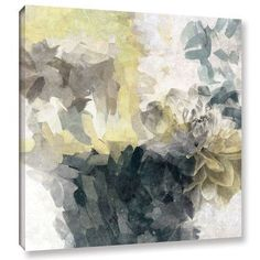 "ArtWall 'Green Dream 2' by Irena Orlov Framed Painting Print on Wrapped Canvas Size: 36"" H x 36"" W x 2"" D"