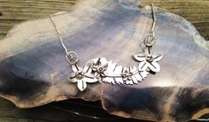 Sterling Silver Flowering Vine Pendant by MaedayMetals on Etsy