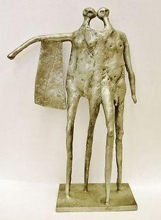 Don Drumm Donald Mid Century Modernist Sculpture Anatomically Correct Man Woman | eBay