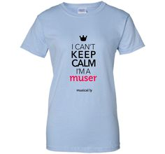 musical.ly keep calm classic (Fitted Cut) shirt