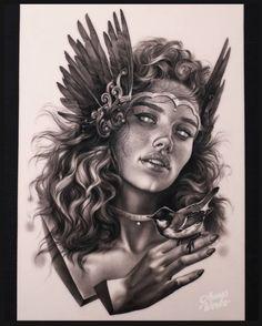 Evil Tattoos, Pin Up Tattoos, Line Tattoos, Animal Tattoos, Fake Skin, Sketch Style Tattoos, Mythology Tattoos, Desenho Tattoo, Witch Art