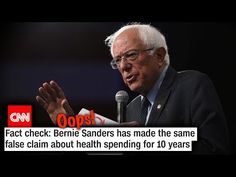 """CNN's """"Fact Check"""" of Bernie Sanders Turned Into an Embarrassing Self-Own Political Images, Current News, Bernie Sanders, Thought Provoking, Self, Politics, Facts, Thoughts, Sayings"""