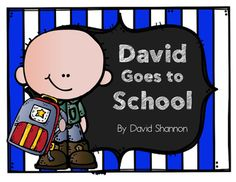 This activity pack contains Kindergarten and first grade activities related to the book David Goes to School by David Shannon.Contents:1. Story anchor charts2. David character map3. Sequencing printable4. Story elements printable5. A Bit of Advice writing stationary6.