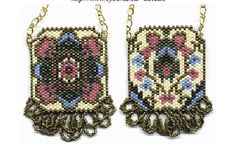 Reversible Purse Necklace Pattern