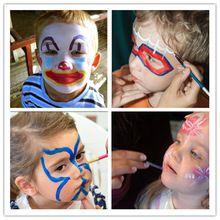newest design 12 colors face body paint set palette cosplay party #facepaintidea for kids #kidsfacepaint