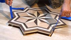 PID Floors Presents: Installing A Hardwood Flooring Medallion Inlay