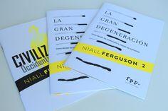 """Resumen de los fascinantes libros """"Civilización: occidente y el resto"""" (2011) y """"La Gran Degeneración: Cómo decaen las instituciones y mueren las economías"""" (2013). Descarga esta publicación aquí: http://www.fppchile.cl/wp-content/uploads/2015/02/Rese%C3%B1asFerguson.pdf Niall Ferguson es uno de los intelectuales públicos más polémicos e influyentes del momento a nivel mundial."""