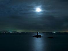 知多半島夜の海 : 写真日記