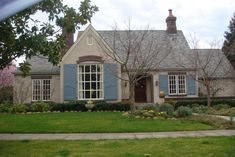 Or i could just paint my house this color since the shutters are already this blue....?