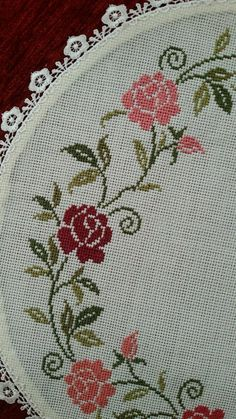 Cross Stitch House, Cross Stitch Art, Cross Stitch Borders, Cross Stitch Flowers, Cross Stitch Designs, Cross Stitching, Cross Stitch Patterns, Crochet Patterns, Flower Embroidery Designs
