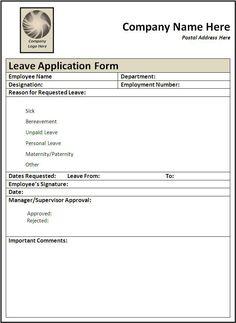 class registration form template word