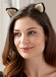 Kitty Cat Headbands - perfect for just a touch of Halloween at the office or at school!