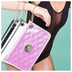 Big Bubble bags wristlet available at shoppinkconfetti.com