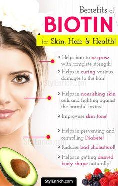 What is Biotin? – #BenefitsOfBiotin for Skin, Hair and Health!