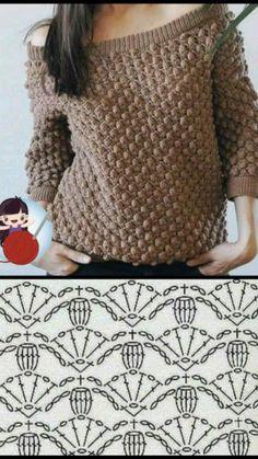 Crochet Crop Top, Crochet Blouse, Diy Crochet, Crochet Stitches, Crochet Patterns, Crop Top Pattern, Crochet Clothes, Devon, Knitting